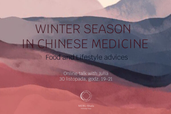 HOLISTIC HEALTH // WINTER IN CHINESE MEDICINE